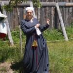 Robe Moyen-Âge XIII è siècle - Virginie Chaverot Salva Terra